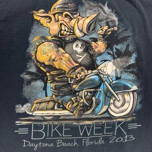 Daytona bike week 2013 motorcycle t shirt